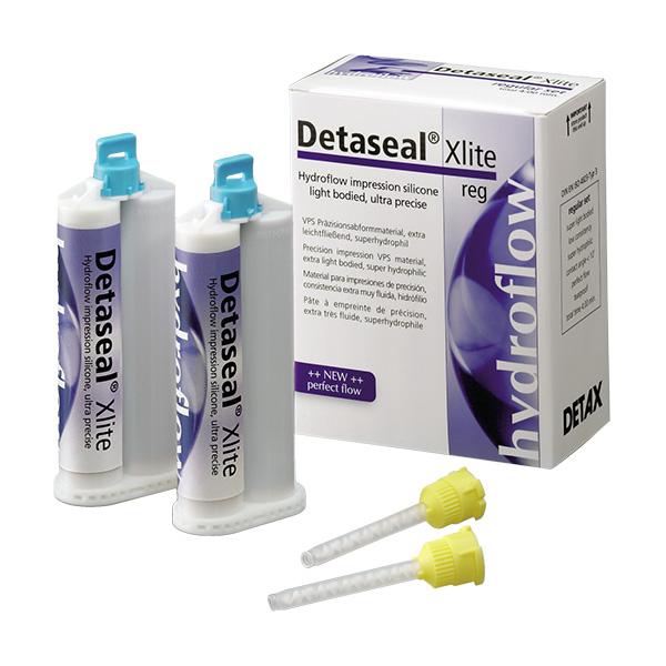 02741  А-Cилікон для зняття відбитків,  Detaseal hydroflow Xlite, DETAX