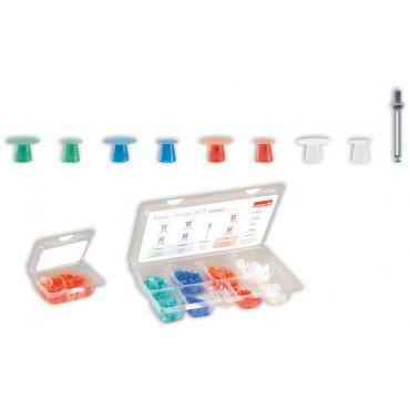 Flexi Snap Kit,набор полировальных головок (50шт), Edenta