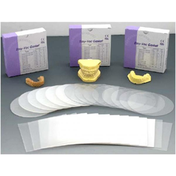 Easy-Vac Gasket Bleaching GB 020, пластины квадратные, для изготовления капп для отбеливания, 1шт.,3A MEDES