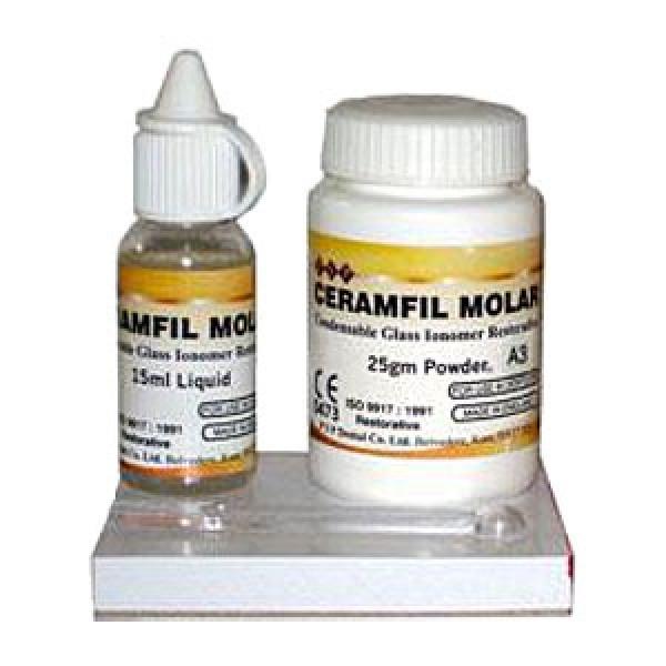 Ceramfil Molar A2, цемент для пломбирования, 25 г Х 15 мл, Pentron