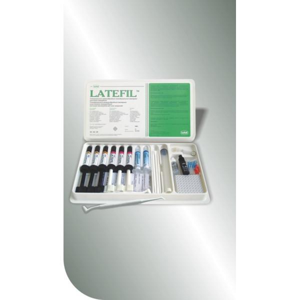LATEFIL, микрогибридный композит, Latus