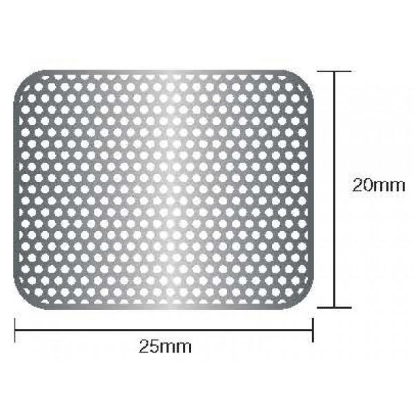 Титановая сетка 20mmx25mm