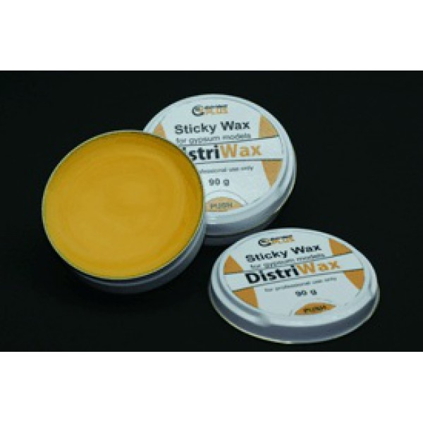 Воск клеевой для гипсовых моделей, sticky wax gypsum models, 100гр, Distrident plus