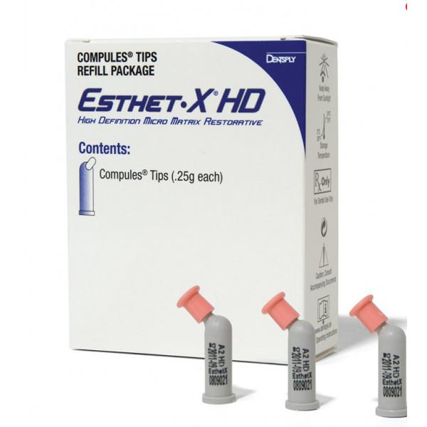 Esthet•X® HD, светоотверждаемый композит, отдельные компьюлы (0,25 г), Dentsply