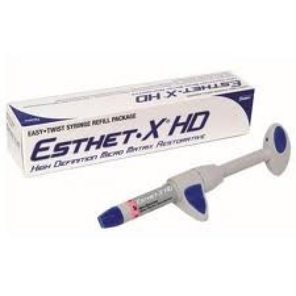 Esthet•X® HD, отд. шприц 3 г.(CE), прозрачная эмаль, Dentsply