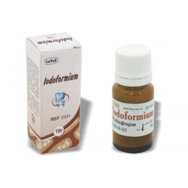 Iodoformium / Йодоформ - антисептическое средство, 10г., LaTuS