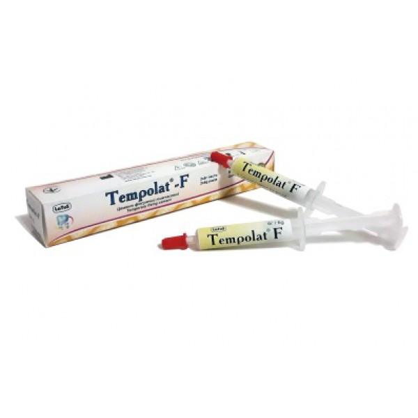 Tempolat-F (Темполат-Ф), цемент временный фиксирующий
