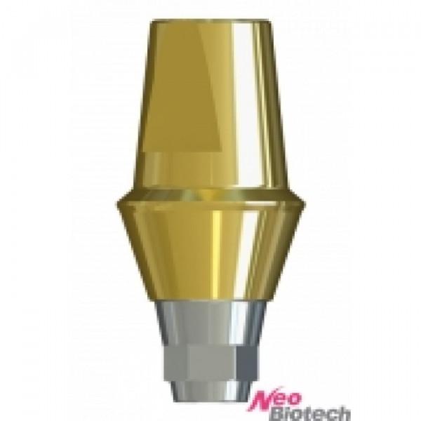 Абатмент прямой с винтом NeoBiotech ISAH645, h=4 mm, d=5.5 mm