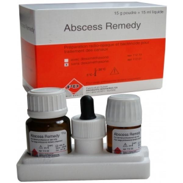 Abscess remedy без дексаметазона 15г+15мл, PRODUITS DENTAIRES