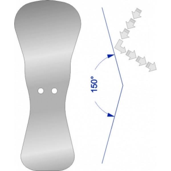 Зеркало взрослое окклюзионное/детское окклюзионное SSM-107,SteriTrays