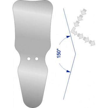 Зеркало взрослое окклюзионное/взрослое щечное SSM-407,SteriTrays