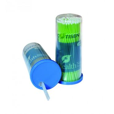 Микро аппликаторы Regular 2,0mm, зеленые, 100шт, PROMISEE DENTAL