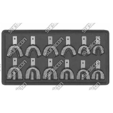 SD-2008-12 Ложка для оттиска, нержавеющая сталь, набор с 12 частей, Surgicon