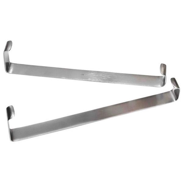 Ретрактор пластинчатый парный по Фарабефу/Wound clasps blade-shaped FARABEUF, 215 мм, Surgicon
