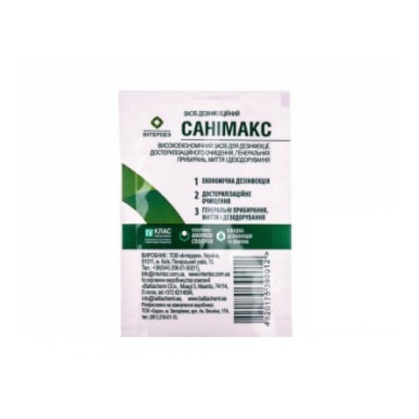 Санимакс средство дезинфицирующее саше 17мл